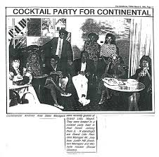 Cocktail party for Continental